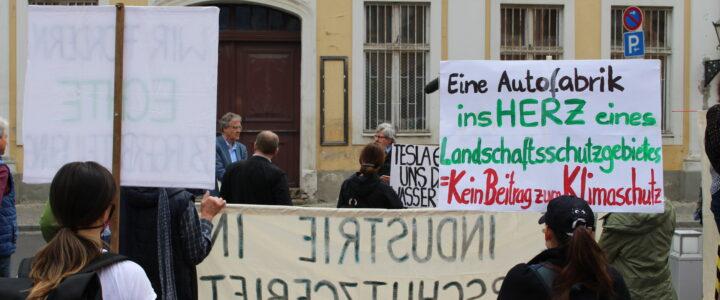 Treffen der BI mit Umweltminister Vogel am 24.06.2020 in Potsdam