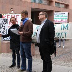 Übergabe offener Brief an Umweltminister Vogel am 19.05.2020