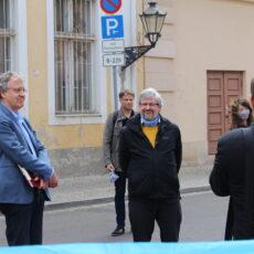 rbb24: Brandenburger Umweltminister spricht mit Mitgliedern der BI