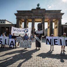 """Wassertafel Berlin-Brandenburg sagt: """"TESLA, GOOD BYE!"""""""